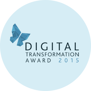 Digital Transformation Award 2015